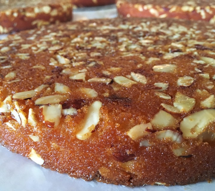 Real Almond Cake
